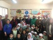 """سفير كندا يتفقد مدرسة من مشروع """"التعليم فى بيئة آمنة"""""""