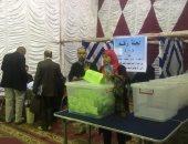 طارق النبراوى المرشح نقيبًا للمهندسين يصل لجنة استاد القاهرة للإدلاء بصوته