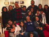 """أحمد حسام """"ميدو"""" ينشر صورة احتفال عائلته بعيد ميلاده الـ35"""