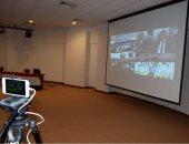 """صور.. أول لقاء """"فيديو كونفرانس"""" للجالية المصرية بعمان مع السفير المصرى"""