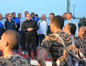 فيديو.. زيارة الرئيس السيسى لكلية الشرطة وتفقده تدريبات الطلاب