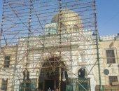 ترميم أضرحة ومساجد آل البيت بالقاهرة لتنفيذ مسار سياحى