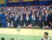 صور.. وزير التعليم العالى: 2000 طالب من 26 جامعة يشاركون بمبادرة متحدى الإعاقة