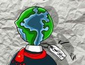 """حال الدنيا .. غزو الصين لأسواق العالم فى كاريكاتير """" اليوم السابع """""""