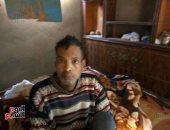 """مأساة """"جمال"""" يعيش فى غرفة بمفرده دون عائل ويحلم بطرف صناعى لقدمه المبتورة"""