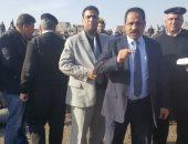 وصول مدير أمن الإسكندرية لموقع تفحم الأتوبيس