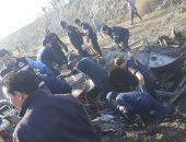 الداخلية: مصرع 8 وإصابة 22 فى انقلاب أتوبيس بالطريق الدولى فى الإسكندرية