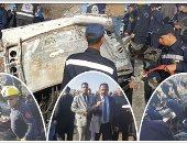 حبس قائد السيارة النقل المتسبب فى حادث أتوبيس الإسكندرية 4 أيام
