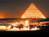 """""""الصوت والضوء"""" تطلق معجم مجوهرات الحضارات القديمة بساحة أبو الهول"""