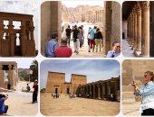 مدير آثار أسوان: المصريون حريصون على زيارة المناطق الأثرية فى العيد