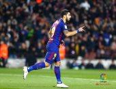 فيديو.. سواريز يحرز هدف برشلونة الأول أمام فالنسيا فى الدورى الإسبانى