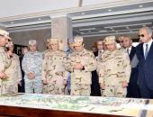 الرئيس السيسى يفتتح قيادة قوات شرق القناة لمكافحة الإرهاب ويتابع جهود سيناء 2018( فيديو وصور)