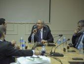 صور.. رئيس هيئة التدريب الإلزامى يستقبل وفد من الهيئة السعودية للتخصصات الصحية