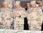 10 رسائل للرئيس السيسى عقب افتتاحه مركز قيادة شرق القناة لمكافحة الإرهاب