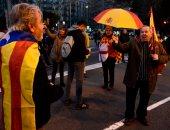 صور.. تظاهر مواطنو كتالونيا احتجاجا على زيارة ملك إسبانيا للإقليم