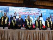 صور.. الأكاديمية العربية تحتفل بتخريج دفعة جديدة من طلبة كلية الدراسات العليا