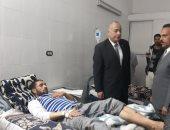 صور.. شاهد مصابى حادث أتوبيس الإسكندرية داخل المستشفيات