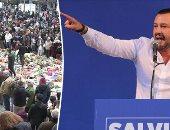وزير الداخلية الإيطالى يستقبل 51 لاجئ فارين من الحرب