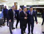 الوفد الأمنى المصرى فى غزة يلتقى وزيرا الزراعة والحكم المحلى الفلسطينيين