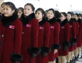 صور.. حسناوات كوريا الشمالية تغادرن الشطر الجنوبى عقب انتهاء الأولمبياد