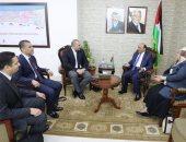 الوفد الأمنى المصرى يلتقى وزير الأشغال الفلسطينى لبحث تفعيل المصالحة