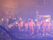 صور.. الشرطة البريطانية تستبعد أن يكون انفجار مدينة ليستر مرتبط بالإرهاب