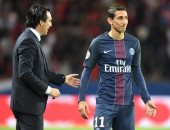 مدرب باريس سان جيرمان يجهز دى ماريا لتعويض نيمار أمام ريال مدريد