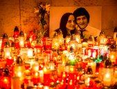 مظاهرة بسلوفاكيا للمطالبة بالعدالة فى حادث مقتل صحفى وصديقته