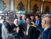 صور ..الناشرين المصريين يفتتح معرض المنيا للكتاب بمشاركة 25 دارا