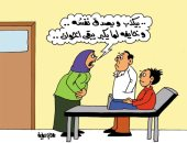 الكذب على بنى الإنسان مبدأ رئيسى عند الإخوان.. بكاريكاتير اليوم السابع
