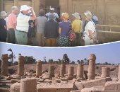 الآثار: إقبال كثيف على مناطق مصر العليا فى عيد الفطر ولـ تونة الجبل نصيب الأسد