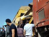 رئيس السكة الحديد: قطار البضائع كان محملا بالطفلة وانقلبت منه عربتان