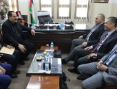الوفد الأمنى المصرى يلتقى وزير التربية والتعليم الفلسطينى لبحث المصالحة