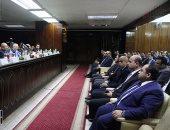 رئيس مجلس الدولة: على القضاة إثبات كل ما يحدث بالانتخابات حتى إغلاق الصناديق (فيديو وصور)