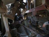 مصدر : 12 مصابا فى حادث قطار البدرشين وجارى الوقوف على أسبابه