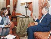 وكالة إيطالية عن حوار اليوم السابع مع السفير عمرو حلمى: كشف خبايا سياسة روما