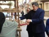 ضبط 30 مخالفة تموينىة خلال حملات مفاجئة على المحلات بـ3 مراكز فى أسيوط