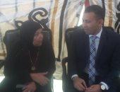 والدة شهيد: ابنى ضحى بنفسه لإنقاذ المواطنين وعشان مصر تظل مرفوعة الرأس