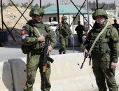 الشرطة العسكرية الروسية تنتشر فى مدينة دوما السورية