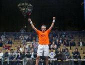 محمد الشوربجى يفوز ببطولة أمريكا المفتوحة للاسكواش