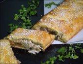 طريقة عمل سترومبولى الدجاج والجبن