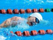 أحمد أسامة الجندى يتصدر منافسات السباحة بكأس العالم للخماسى الحديث