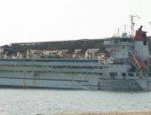 ميناء غرب بورسعيد يستقبل سفينتى رخام وماشية حية