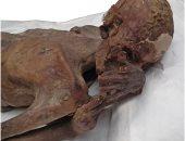 صور.. اكتشاف أقدم وشم فى العالم على ذراع مومياء مصرية فى المتحف البريطانى