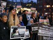 صور.. تجدد المظاهرات فى نيويورك احتجاجا على سياسات ترامب ضد المهاجرين