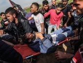 صور.. 15 مصابا فلسطينيا برصاص الاحتلال فى مواجهات اليوم