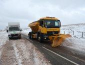 الثلوج تجتاح رومانيا وتتسبب فى تأجيل الرحلات الجوية ومواعيد القطارات