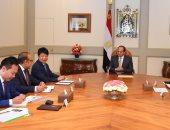 """السيسى يؤكد تطلع مصر لزيادة حجم أنشطة """"هواوي"""" العالمية"""