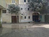 شكوى من تكرار انسداد خط الصرف الصحى بشارع حسين ابو النجا بمصر القديمة