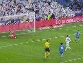 فيديو.. خيتافى يهز شباك ريال مدريد ويقلص النتيجة إلى 2 - 1